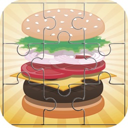 Food Burger Jigsaw - Cooking Puzzles games for adults and kid free