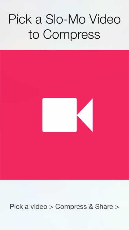 SloMo Share! for iPhone  - Share slow motion video to whatsapp, snapchat, Instagram, and eleswhere