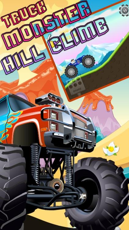 Really Hill Climb Upgrades 4X4 Monster Truck screenshot-3