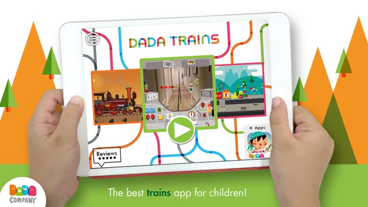 DADA Trains screenshot-0