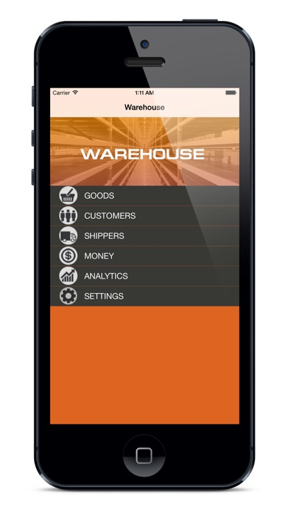 Warehouse  in your phone
