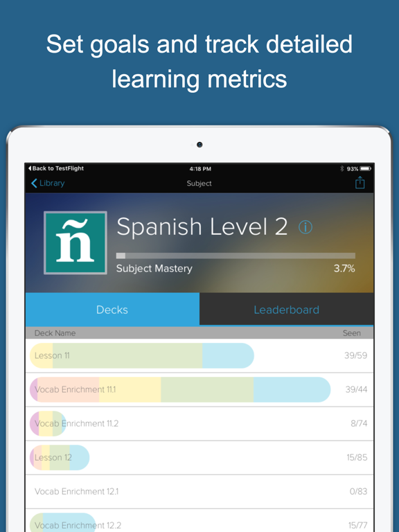 Learn Spanish ASAP by Brainscape (iOS, United States