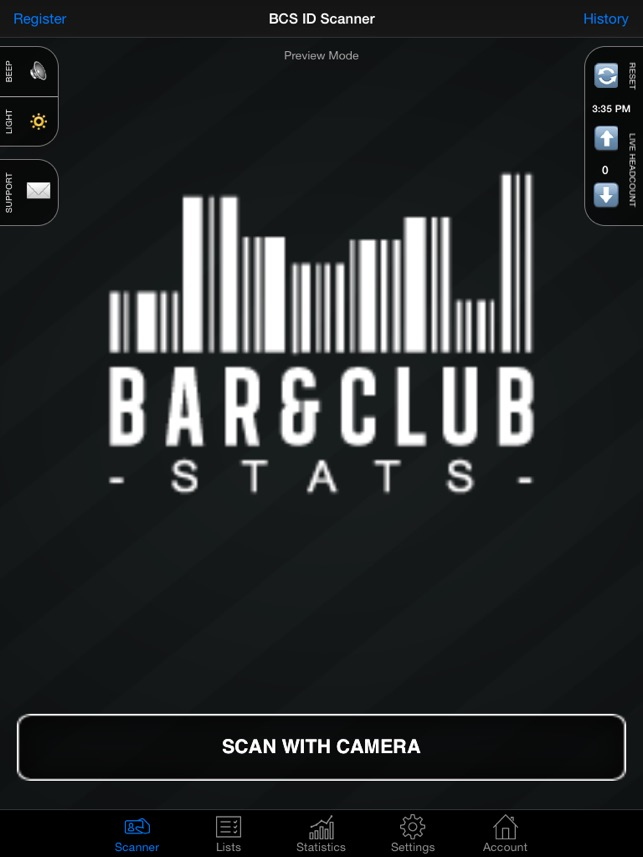 Store The Scanner Collection On Data Id App bcs