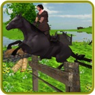 Horse Jumping Adventure Travel : Real Archer Horse Ridging & Racing Champion icon