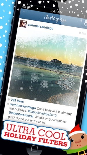 InstaChristmas - Celebrate Christmas with Holiday Frames, Stickers ...