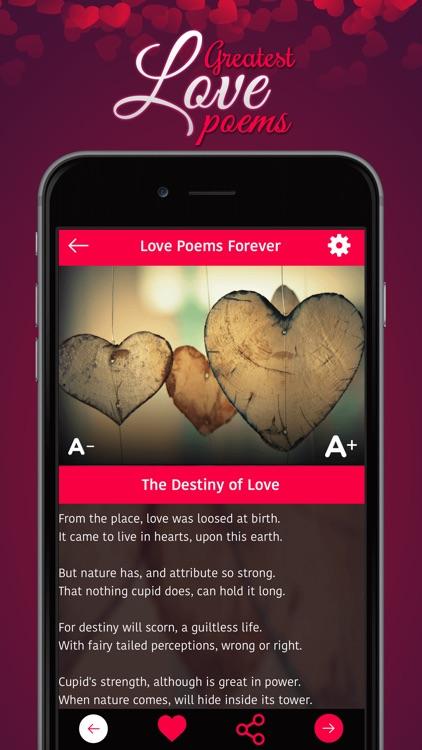 **Love Poems Forever** screenshot-3