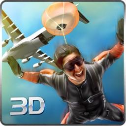 Sky Dive Airplane Simulator 3D