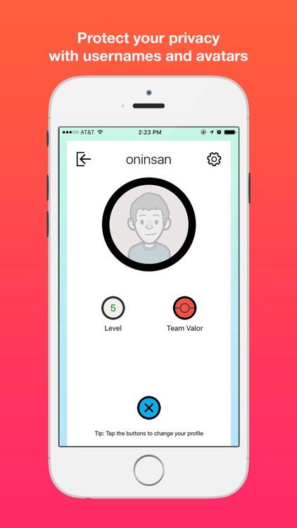 PinChat - Radar Map and Chat for Pokemon Go screenshot-4