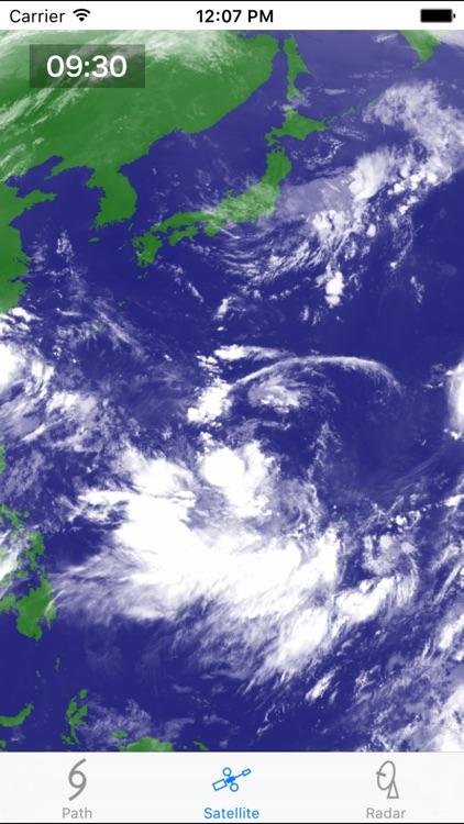 Typhoon - 台風の情報