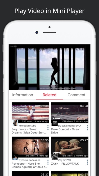 Tube Master - Free Music Video Player for YouTube for Windows