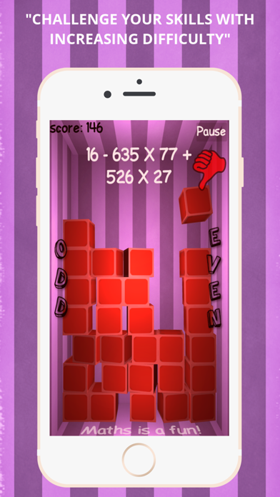 Maths Game: Odd - Evenのおすすめ画像3