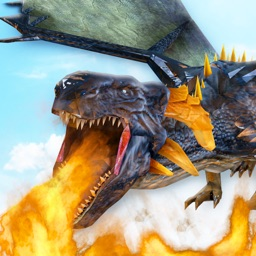 Monster Dragon War: Dragons in village of warriors 'A fighting game'
