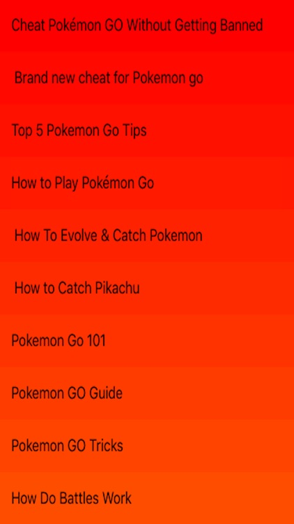 Guide For Pokemon Go - Videos
