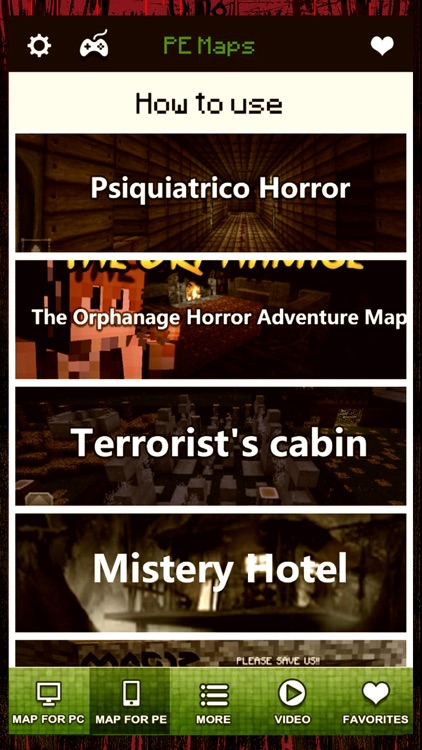 Horror Maps - Download The Scariest Map for MineCraft PE & PC Edition