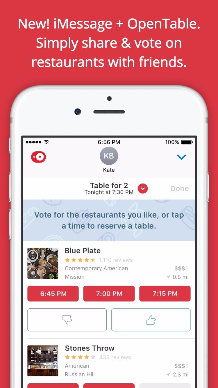 OpenTable - Restaurant Reservations