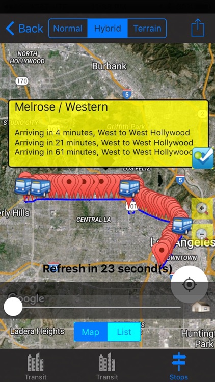 Los Angeles Traffic Cameras/Travel/Live Bus and Rail/NOAA All-In-1 screenshot-3