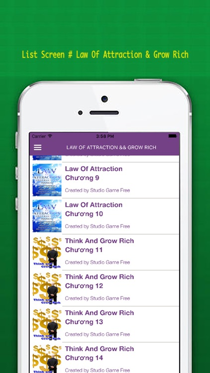 Law Of Attraction - Think And Grow Rich screenshot-3