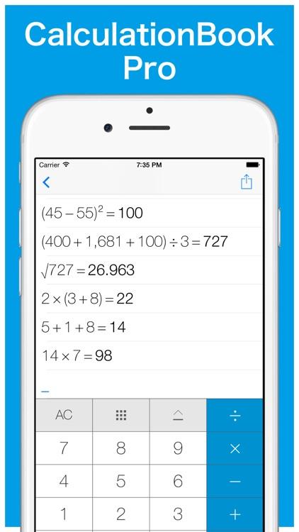 CalculationBook Pro