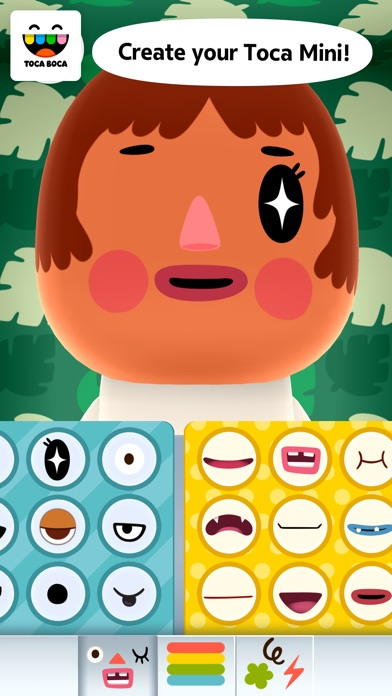 Screenshot for Toca Mini in Jordan App Store