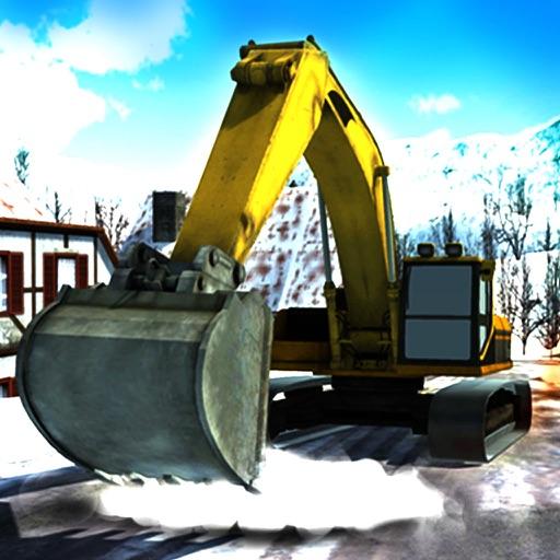 Heavy Snow Excavator Simulator – 3D Crane Truck Simulation Game iOS App