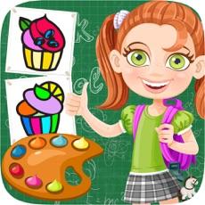 Activities of Cupcake Coloring Book Kids Game