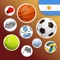 App Icon for Deportes Argentinos App in Poland IOS App Store