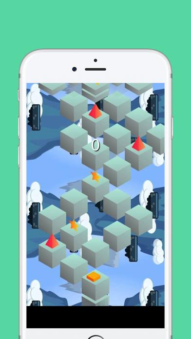 Roll Block Bounce Fly to Sky Don't Fall Screenshot