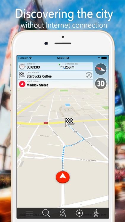 Beirut Offline Map Navigator and Guide