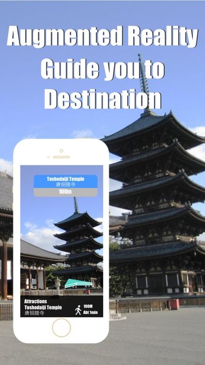 Nara travel guide and offline city map, Beetletrip Augmented Reality Train and Walks advisor