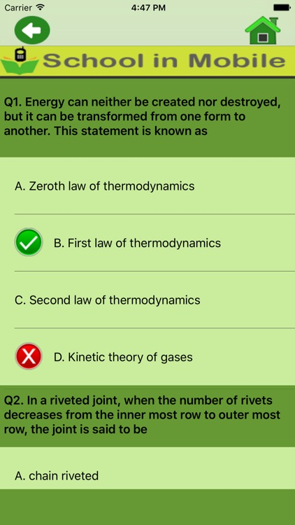 Mechanical Engineering Quiz screenshot-4