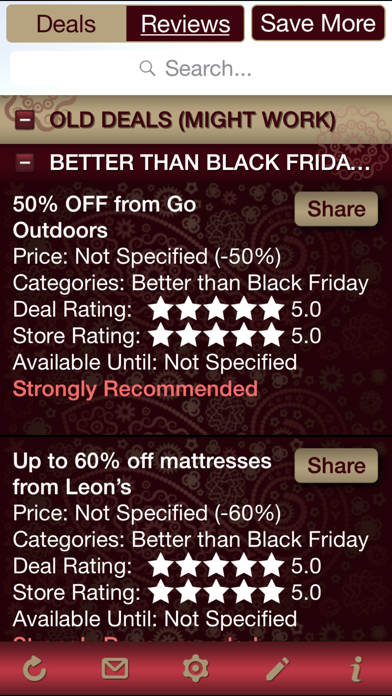 Black Friday & Special Event Deals, Black Friday & Special Event Store Reviews screenshot two