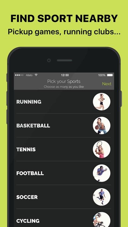 ATLETO #sporttogether screenshot-0