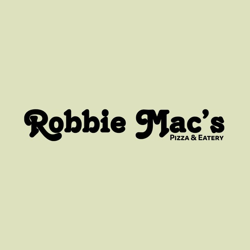 Robbie Mac Pizza
