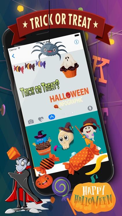 HalloMoji  Halloween Stickers & Emojis screenshot-3