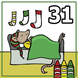 Coloring Book 31 The Night Before Christmas