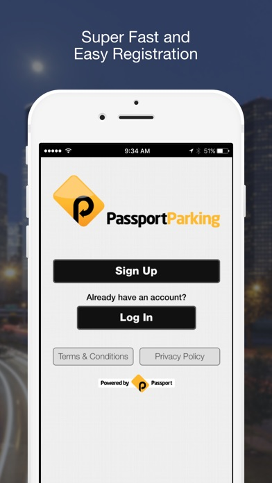 PassportParking Mobile Pay for Windows