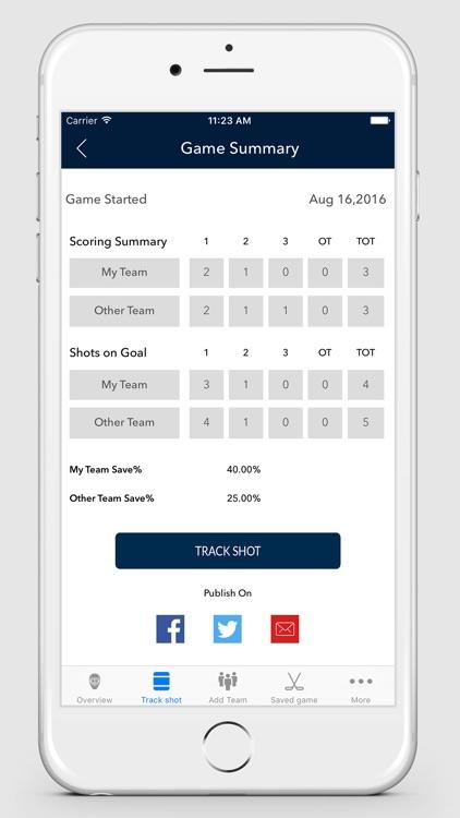 Pro Goalie Stats screenshot-4
