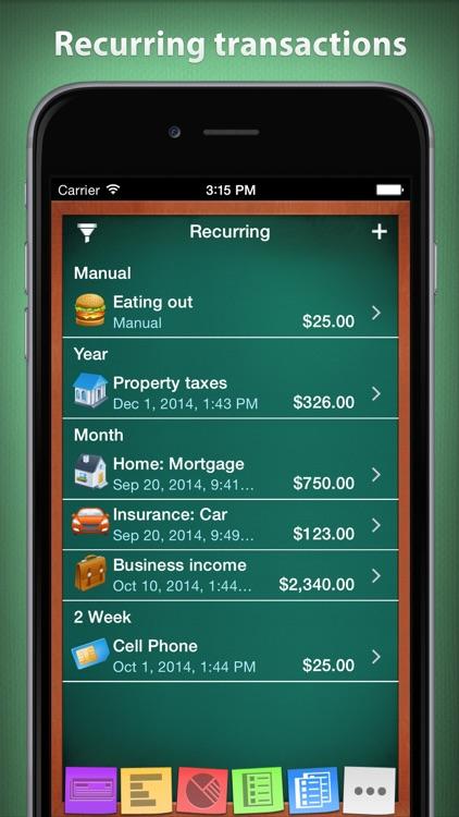Checkbook HD Lite - Personal Finance screenshot-4