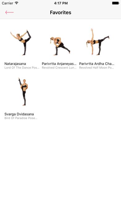 Yoga Poses — 250 yoga poses with video tutorials screenshot four