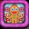 Crazy Christmas Ginger-bread Boy Town House Jump Lite