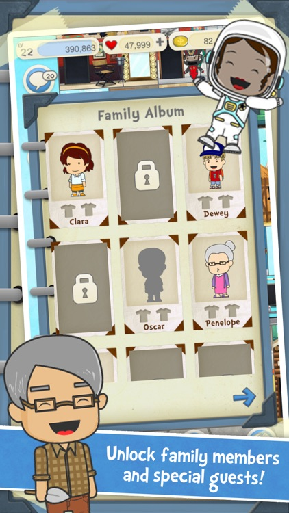 Pocket Family - My Dream House screenshot-3