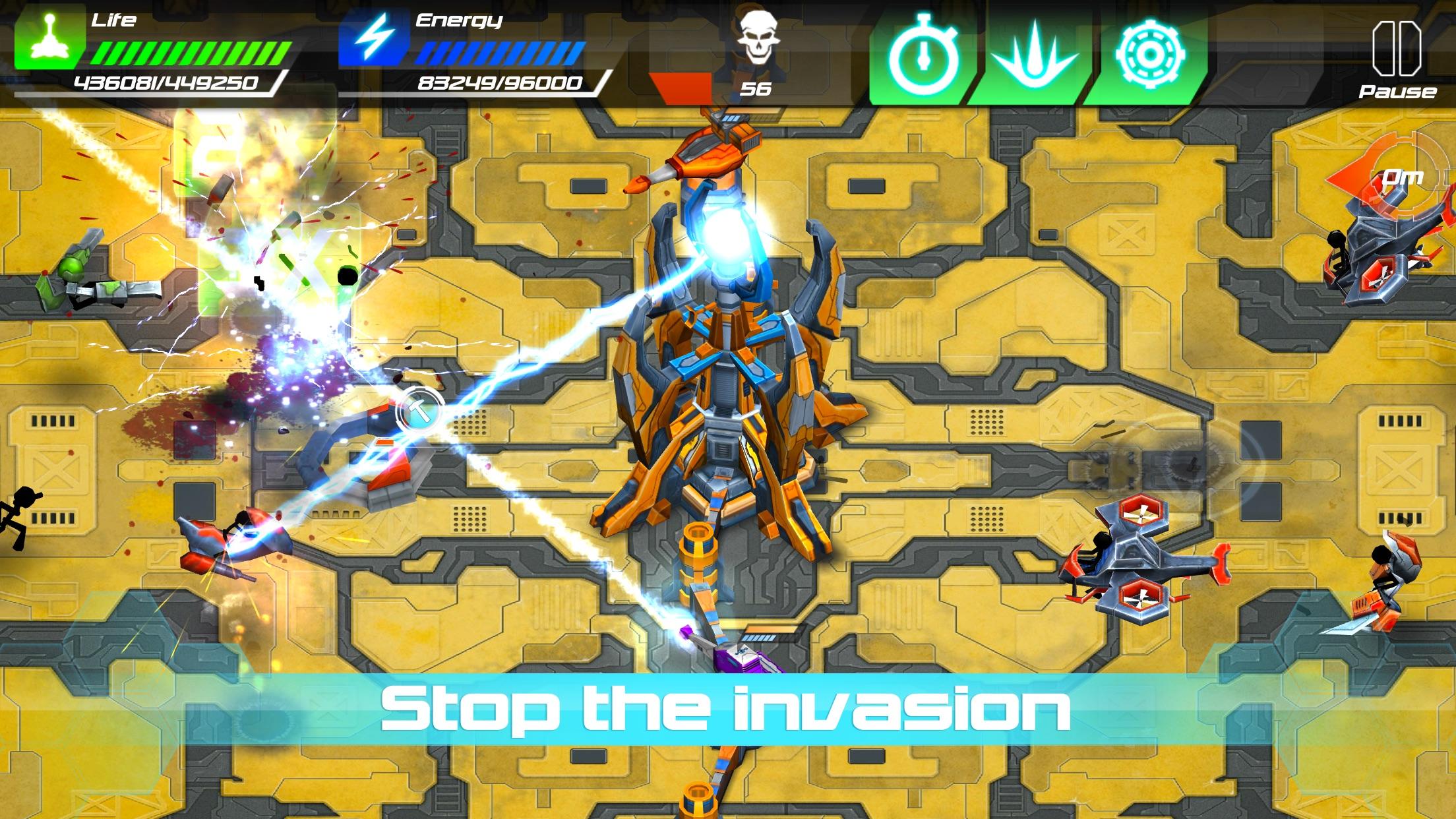 Screenshot do app Tesla Wars - II