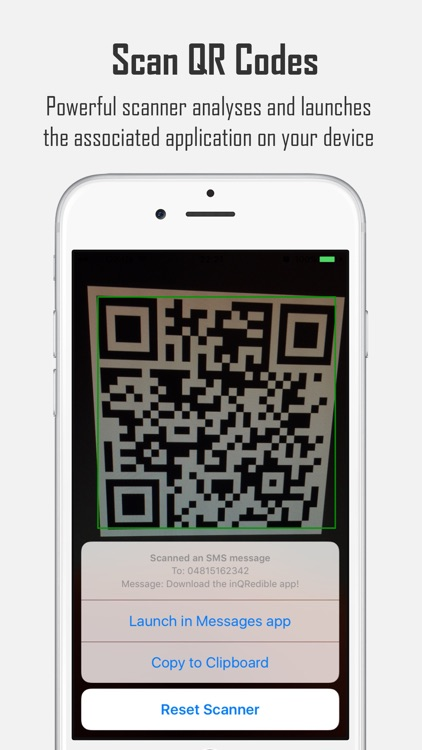 inQRedible - QR Code Reader and Creator