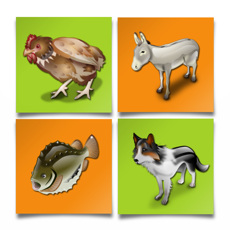 Activities of Animal Match Puzzle - Free Brain Games For Kids
