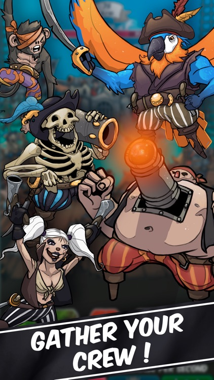 Clicker Pirates - Tap to fight screenshot-3