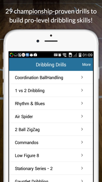 Basketball Dribbling Drills screenshot-2