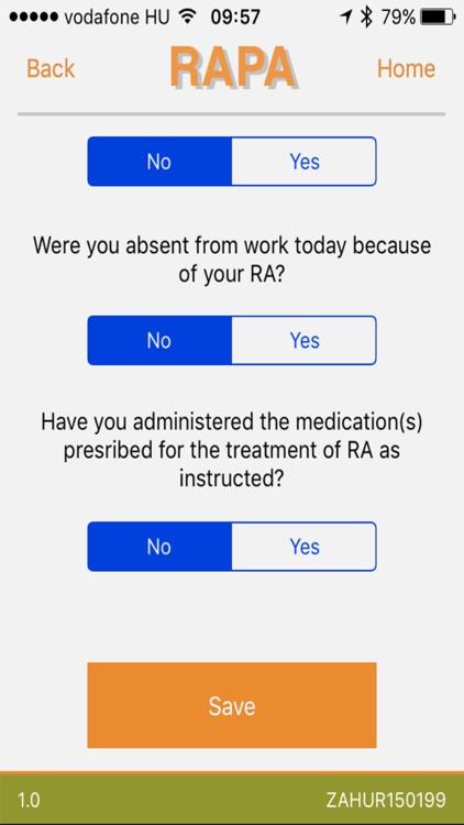 RAPA – RA Patient Application