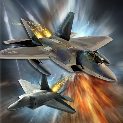 A Race Flight - Air-Plane Fight-er Lightning Game icon