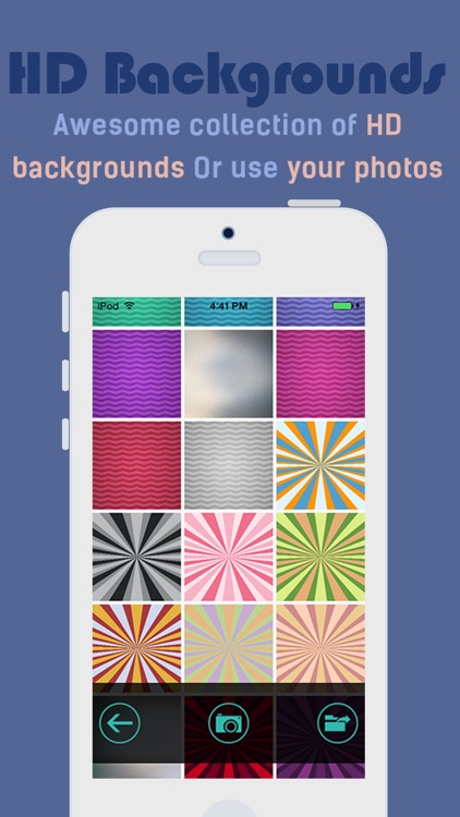 iMonogram Lite - Create your own custom wallpapers and backgrounds screenshot-3