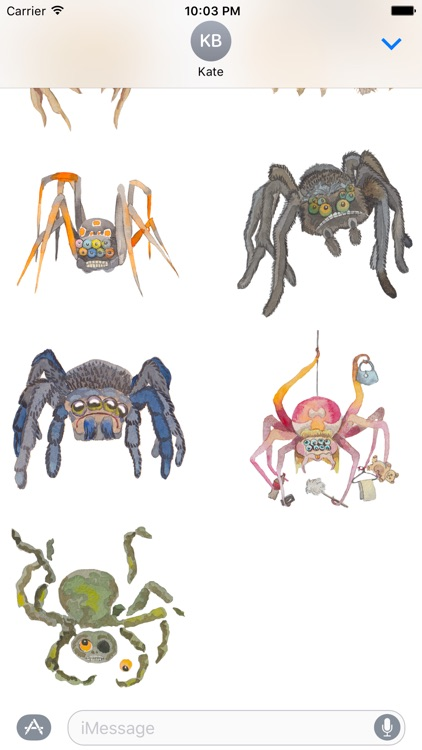Silly Spiders by Rhea Dennis screenshot-3